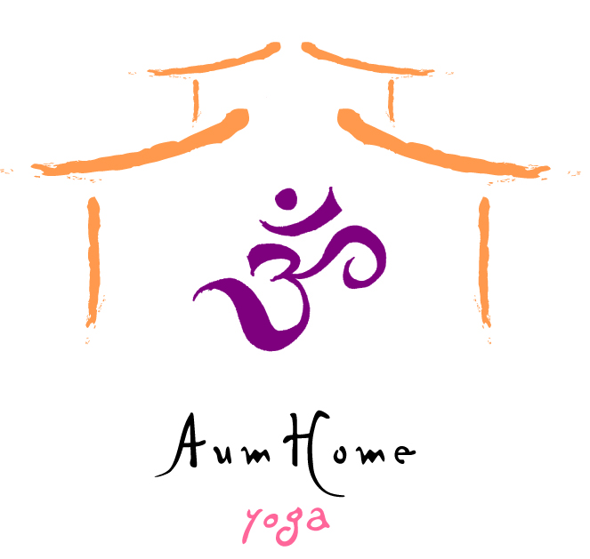 Aum Home Yoga logo
