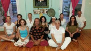 Initial Kriya Yoga memoir: final day participants