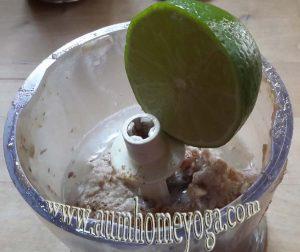 στάδιο 3 vegan κρέμας λεμονιού