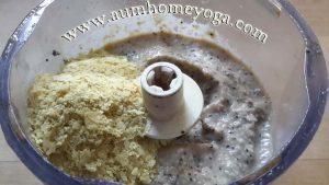 στάδιο 5 παρασκευής κρέμας λεμονιού: προσθέτουμε τη διατροφική μαγιά