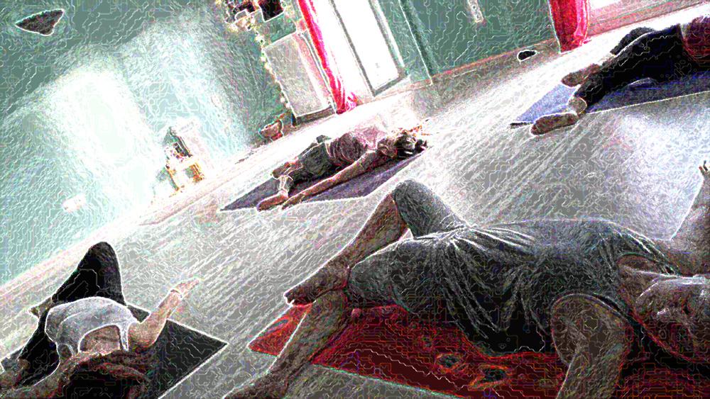 Γιόγκα για ενεργοποίηση της χολής Aum Home Yoga